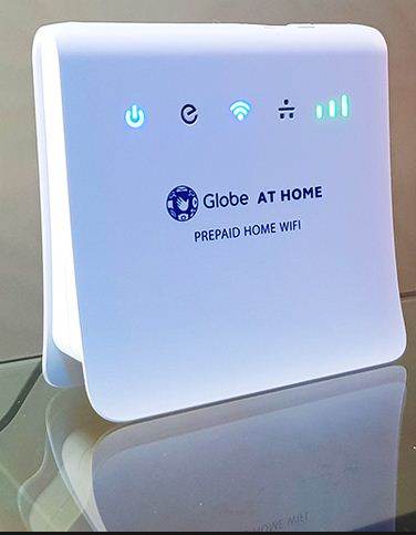 Globe At Home Prepaid Wifi modem