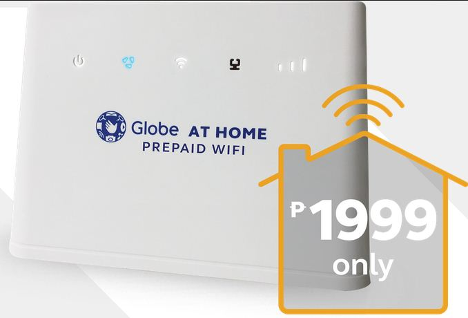 Globe At Home Prepaid Wifi modem model B310 LTE CPE